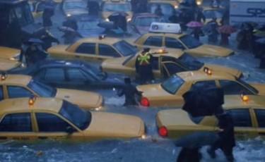 Irene fills New York's urban canyons