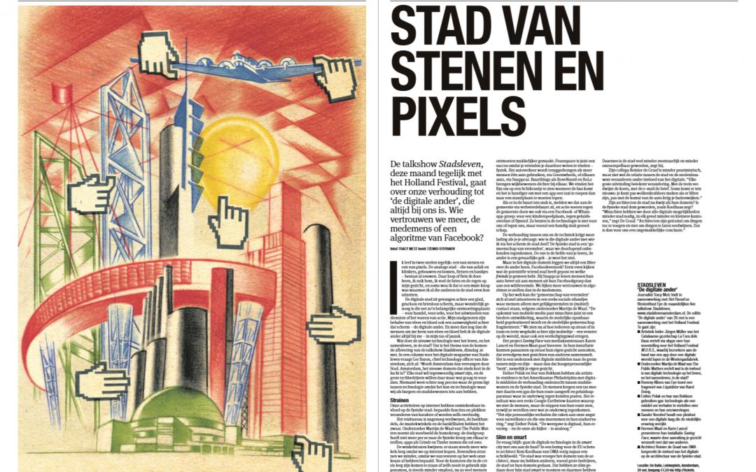 Stadsleven: Stad van stenen en pixels