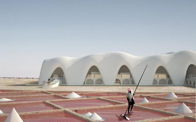 Eric Geboers ontwerpt een stad van zout