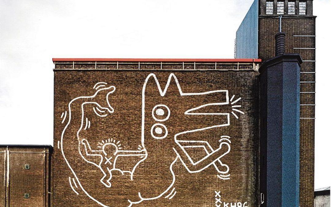 Twee gigantische kunstwerken van Keith Haring keren terug naar Amsterdam