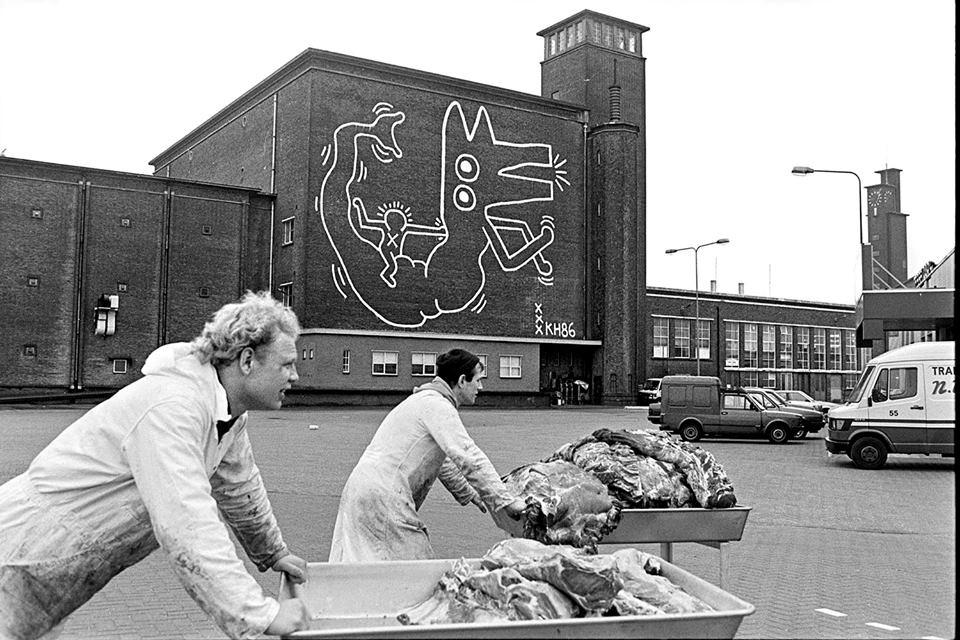 De stad in De Ochtend: Keith Haring in Amsterdam