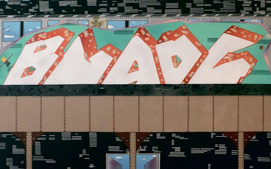 Graffitikunst zonder de stadse scherpte van toen