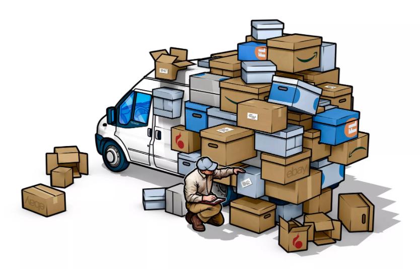Stadsleven in NRC: Dozen, dozen en nóg meer dozen